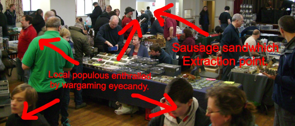 Sausage extraction point